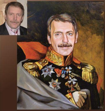 Настоящий портрет маслом на заказ в Симферополе…