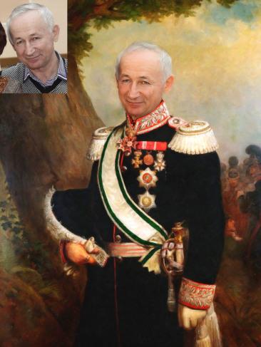 Где заказать исторический портрет по фото на холсте в Симферополе?