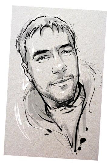 Портрет карандашом любимому мужу в Симферополе…