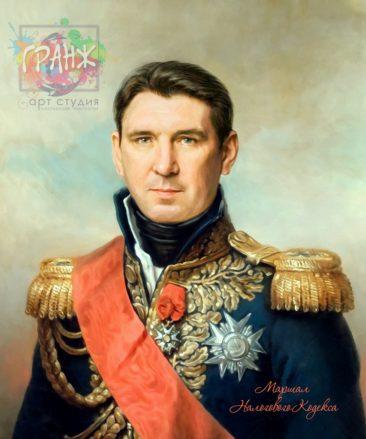 Портрет по фото на холсте в подарок мужчине на 23 февраля Симферополь